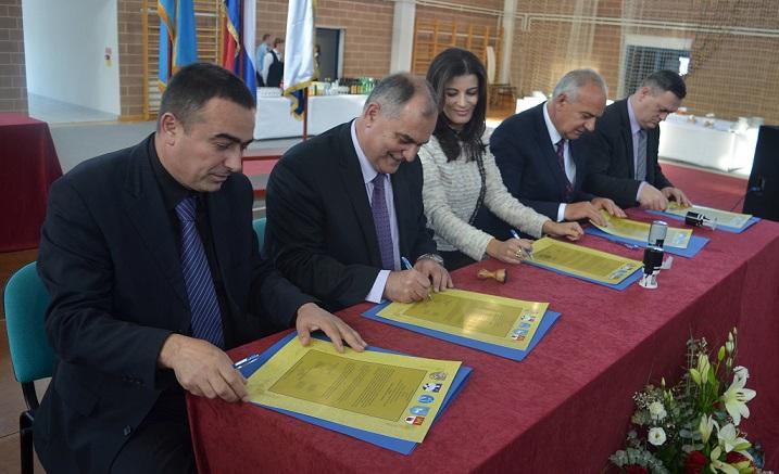 """Potpisana Povelja o prijateljstvu i suradnji """"5 hrvatskih kraljevskih gradova"""""""