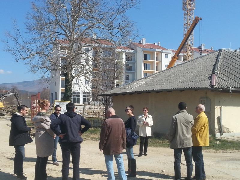 Gradonačelnica sa suradnicima obišla gradilišta u Kninu