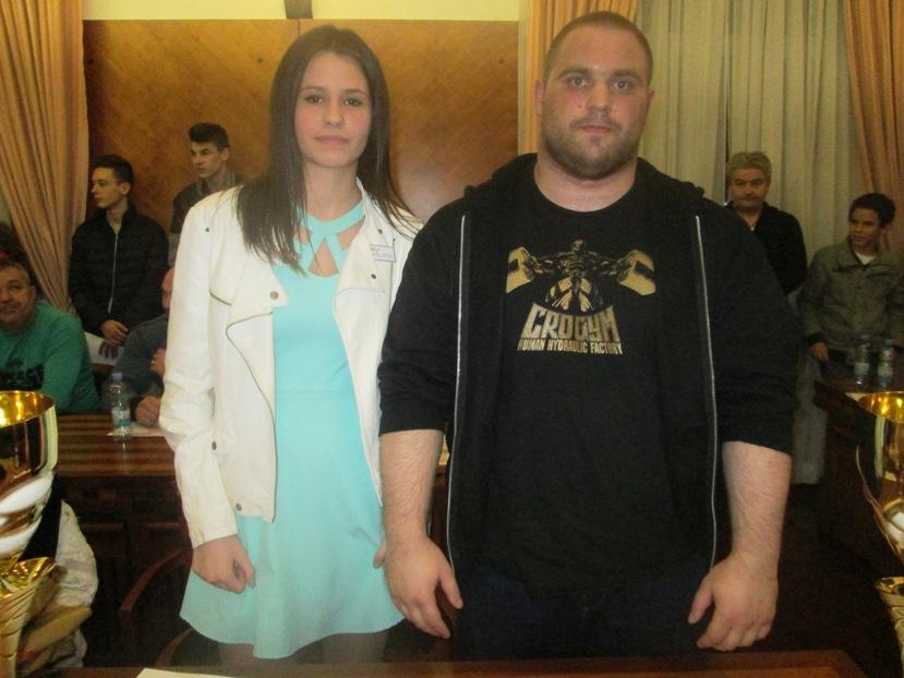 Milan Treskavica i Matea Jelić najbolji sportaš i sportašica Knina