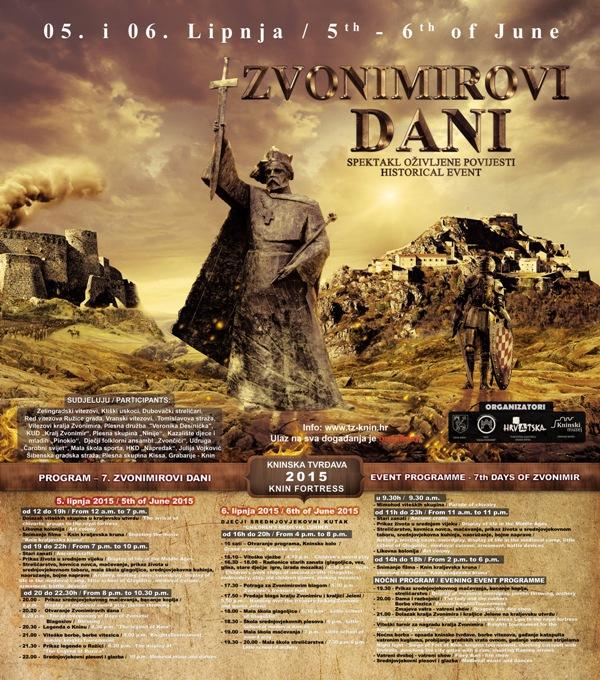 Sedmi Zvonimirovi dani 5 i 6. lipnja 2015. godine