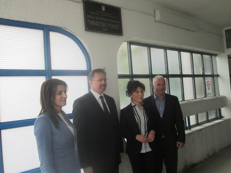 Ministar zdravlja svečano otvorio veteransku bolnicu u Kninu