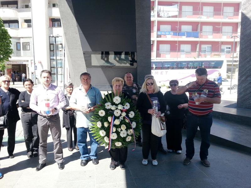 Posjet Kninu Udruge roditelja poginulih branitelja Domovinskog rata iz Zaprešića