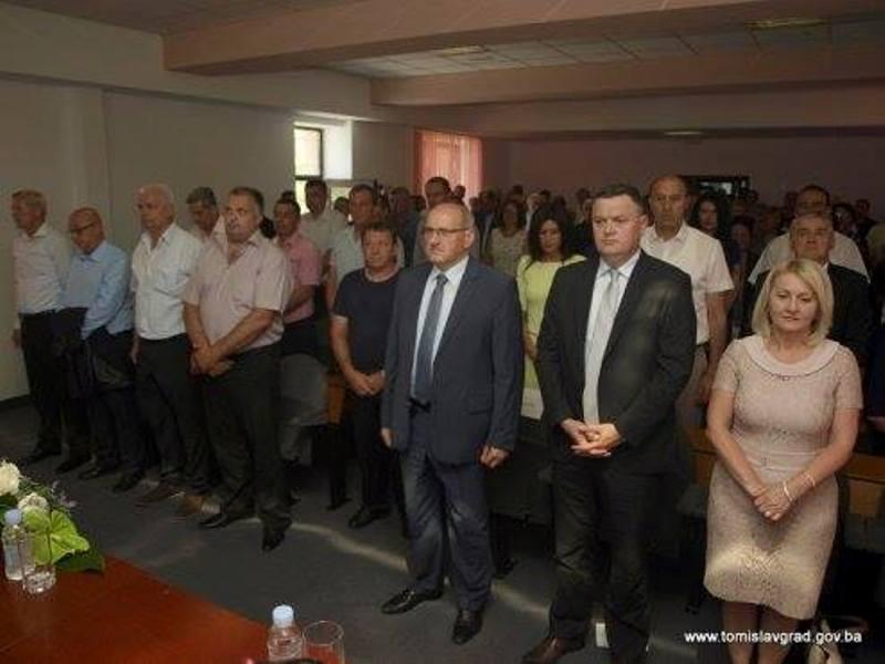 Izaslanstvo Grada Knina na svečanoj sjednici Općinskog vijeća Tomislavgrada