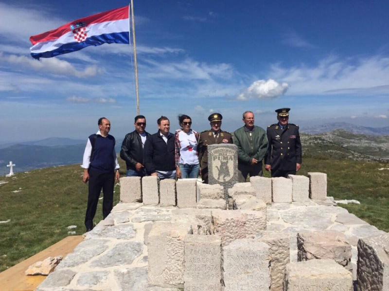 Obljetnica na Dinari: 500 ljudi na 1.700 metara visine podsjetilo se hrabrosti Puma