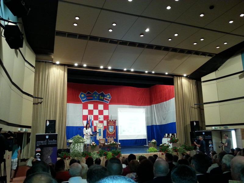 Održana svečana sjednica Gradskog vijeća Grada Knina