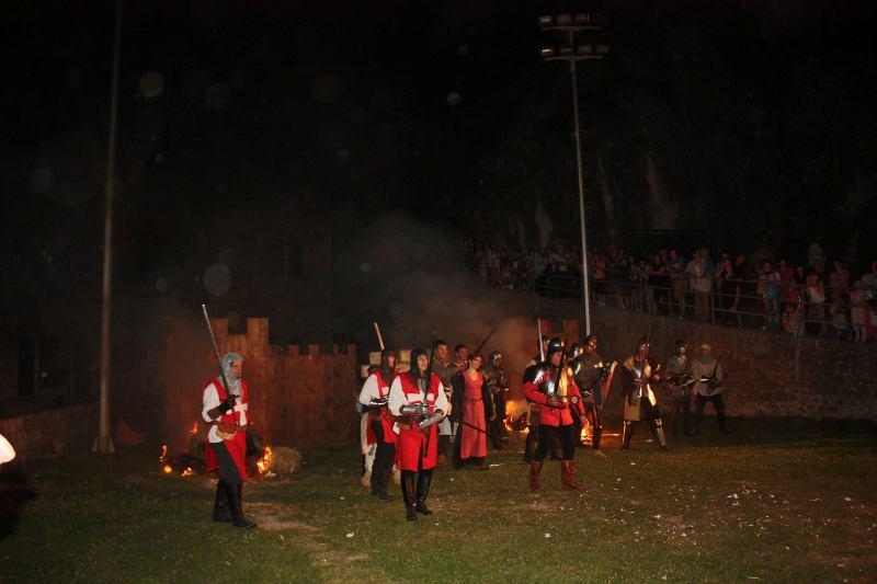 Završeni sedmi Zvonimirovi dani, spektakl oživljene povijesti na kninskoj tvrđavi
