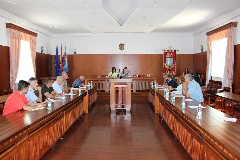 Održana konstituirajuća sjednica Vijeća srpske nacionalne manjine Grada Knina