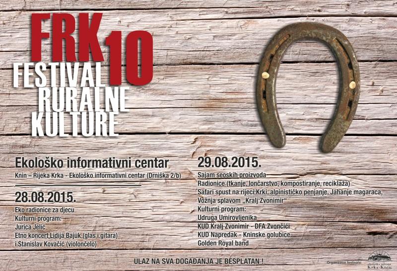 U petak i subotu 10. FRK: Donosimo program festivala