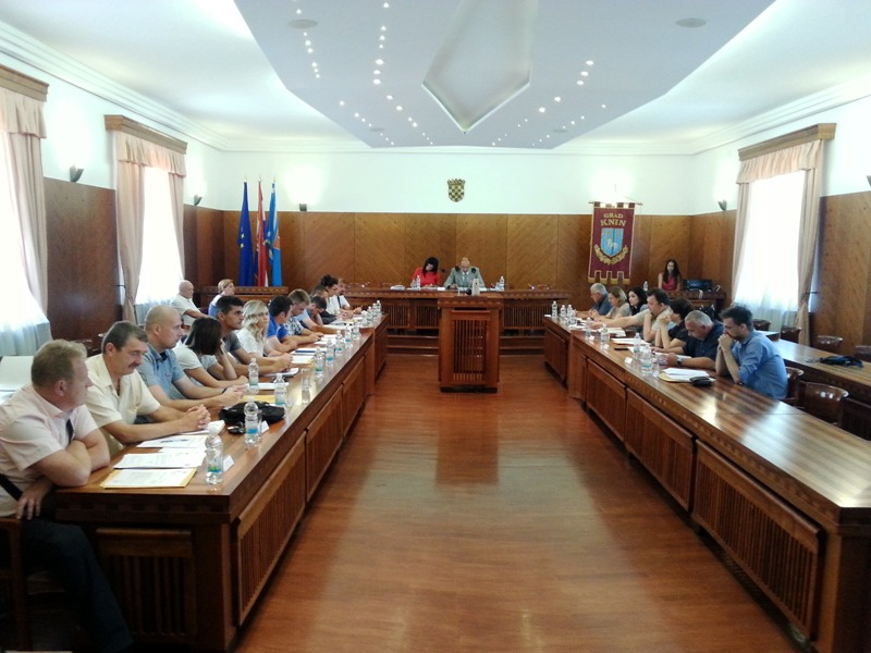 Održana sjednica Gradskog vijeća Grada Knina
