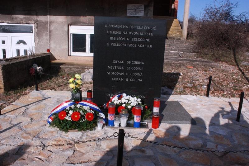 Obilježavanje 24. godišnjice stradanja četveročlane obitelji Čengić iz Ervenika