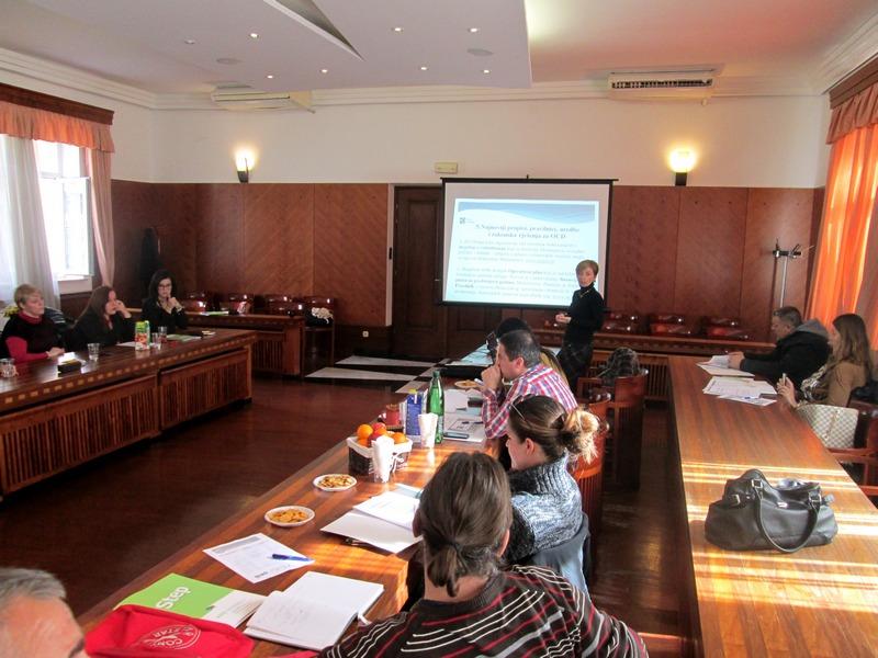 Održan sastanak Vijeća udruga grada Knina