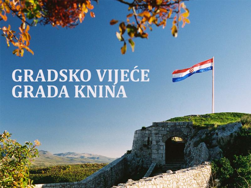 9. sjednica Gradskog vijeća Grada Knina u 28. ožujka 2018. godine (srijeda) u 16:30 sati