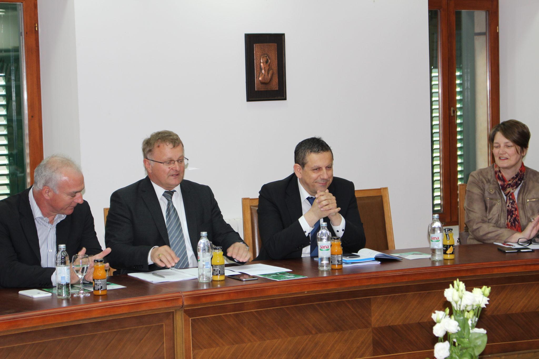 Održana sjednica predsjedništva Udruge gradova