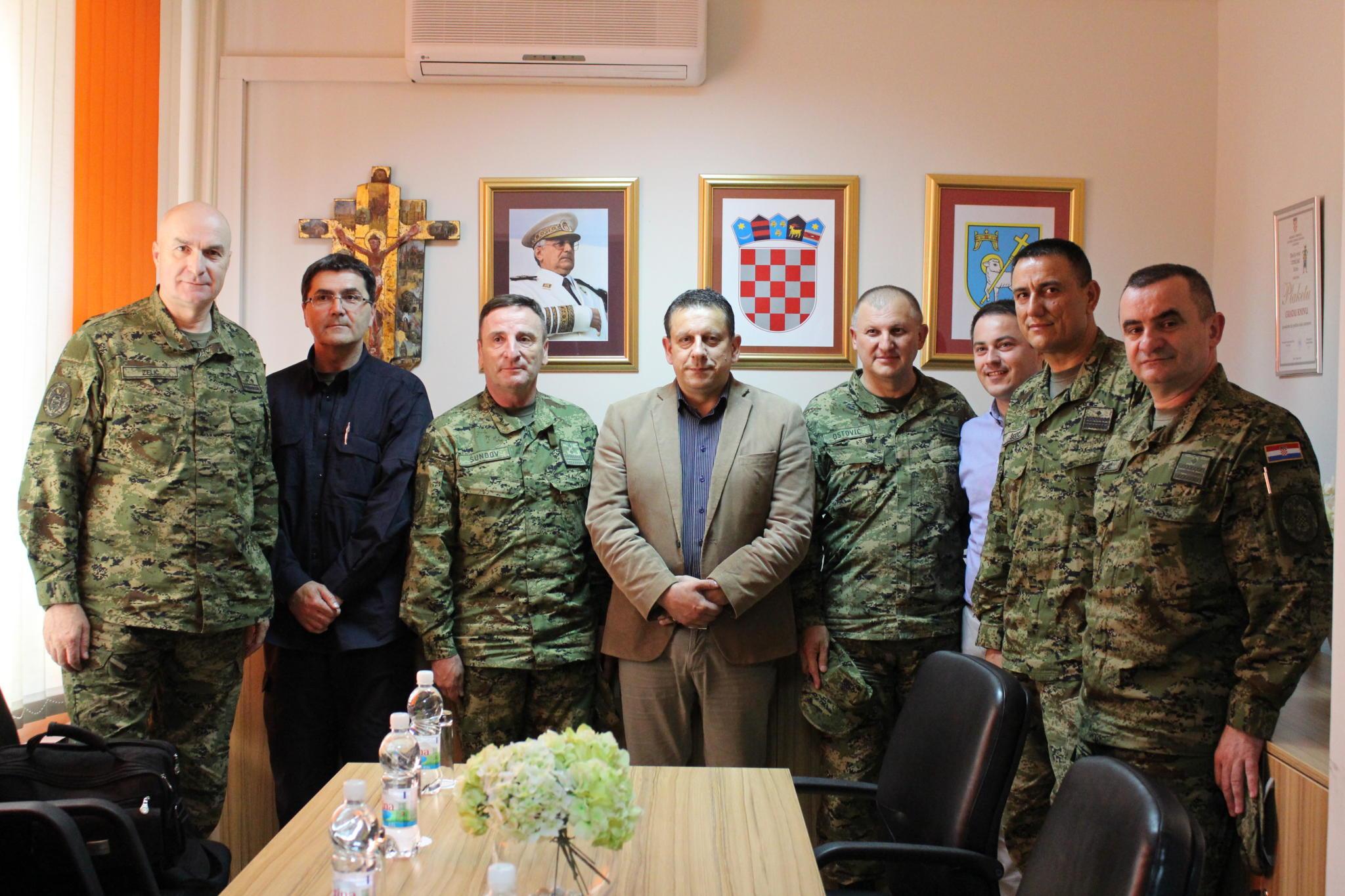Ministarstvo obrane RH i Glavni stožer OSRH na radnom sastanku u Gradskoj upravi