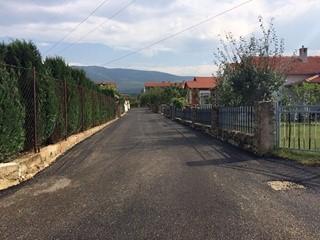 Završeni radovi na uređenju/asfaltiranju ulice Ante Anića, odvojka Tomislavove ulice od br: 230-240 i odvojka Gotovčeve ulice: