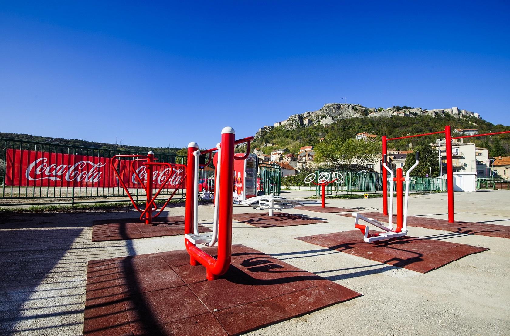 Knin,28.10.2016 – Svecano otvorenje Coca Cola Aktivne zone