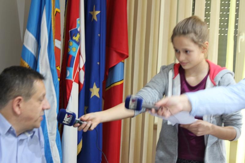 Gradonačelnik primio radijsku sekciju OŠ dr. Franje Tuđmana