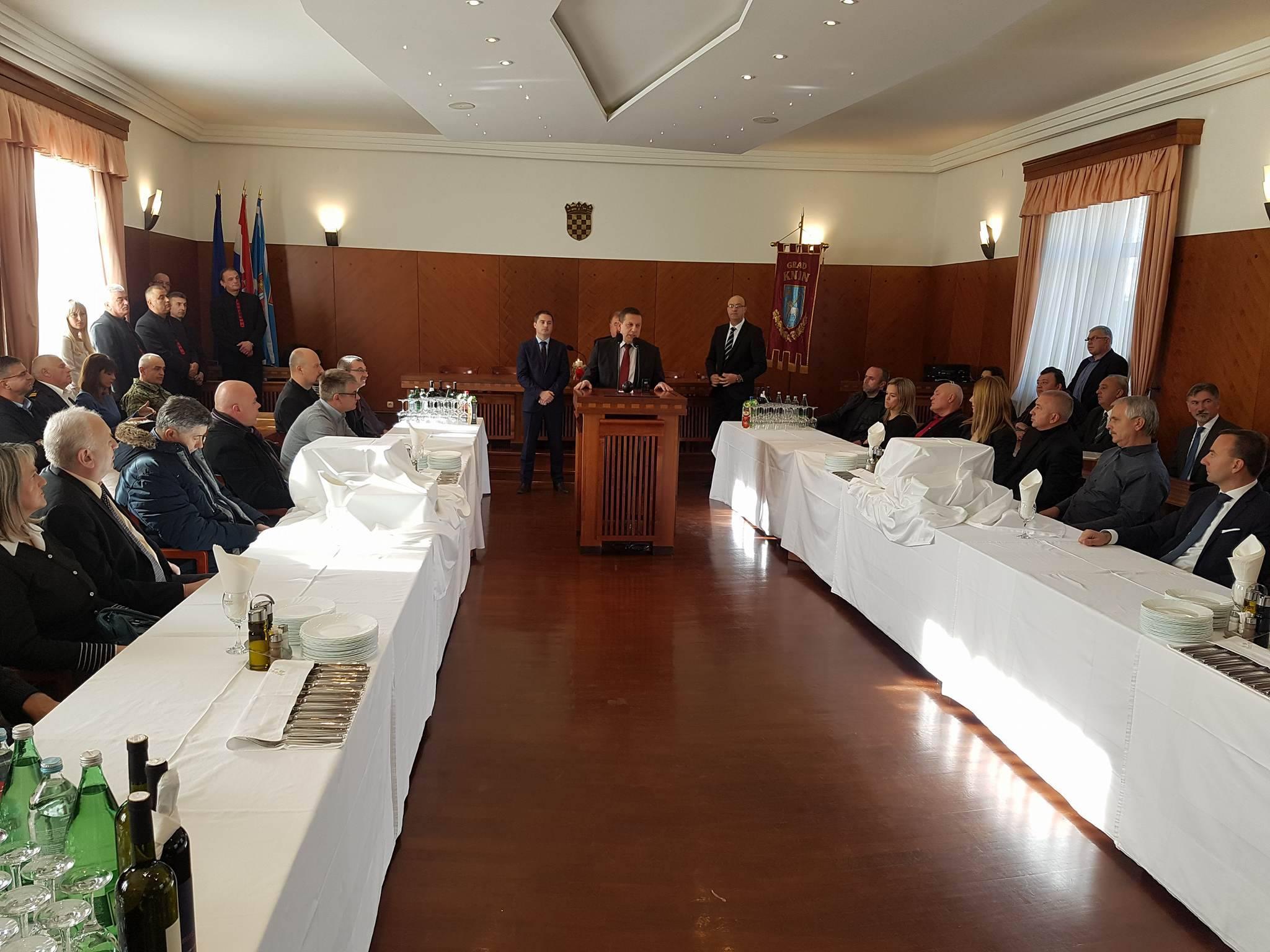 Održan tradicionalni Božićni prijam gradonačelnika i predsjednika Gradskog vijeća