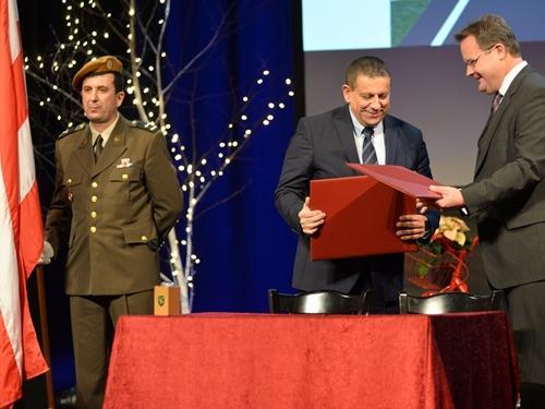 Potpisana povelja o prijateljstvu i suradnji između Grada Knina i Grada Varaždina