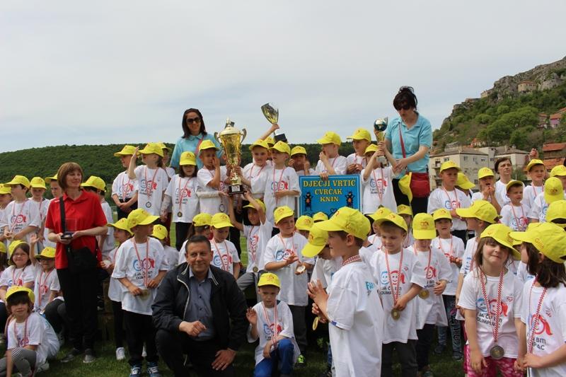 Održana Olimpijada dječjih vrtića