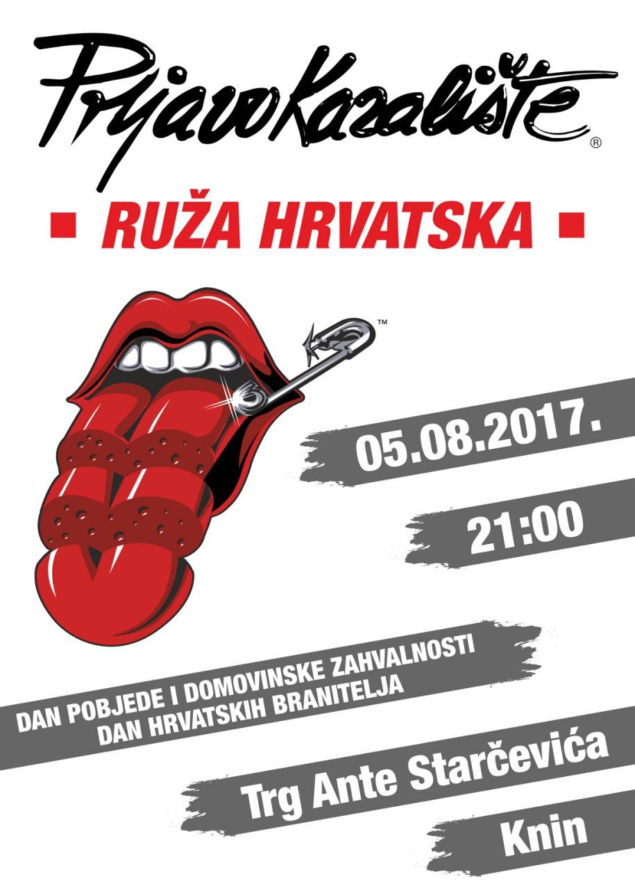 Prljavo kazalište na Dan pobjede i domovinske zahvalnosti i Dan hrvatskih branitelja nastupat će u Kninu