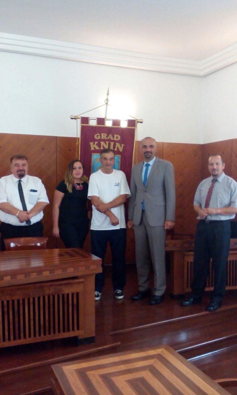 Gradonačelnik primio heroja Živka Ognjenovića