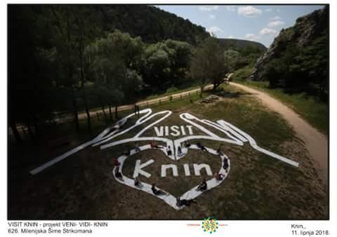 Milenijska visit Knin