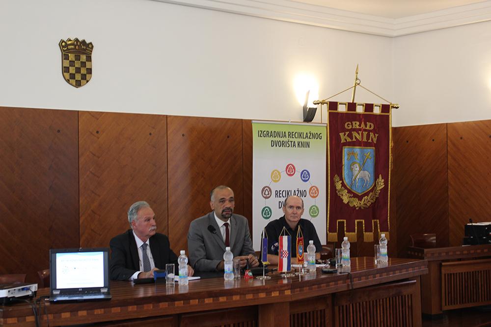 Održana početna konferencija o izgradnji reciklažnog dvorišta Knin