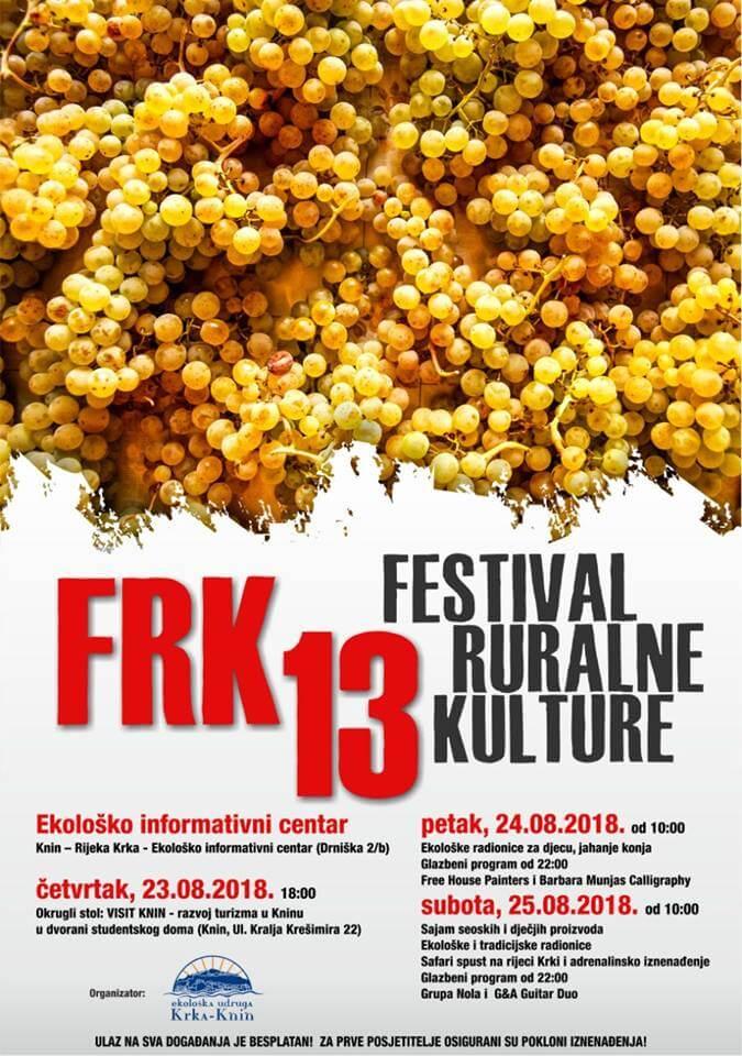 Donosimo program 13. po redu festivala ruralne kulture – FRK