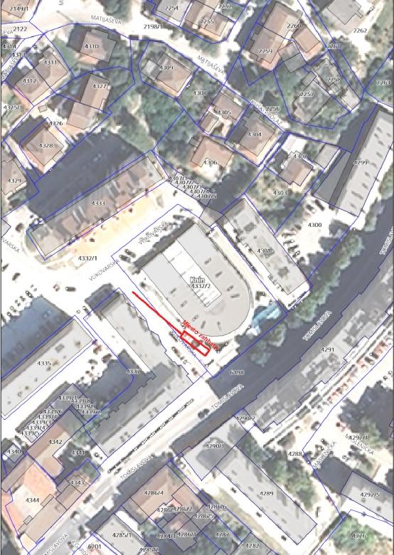 Privremeno zatvaranje prometa na dijelu Vukovarske ulice