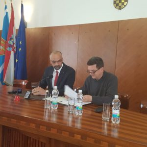 Grad Knin i Muzej hrvatskih arheoloških spomenika Split  potpisali Ugovor o donaciji