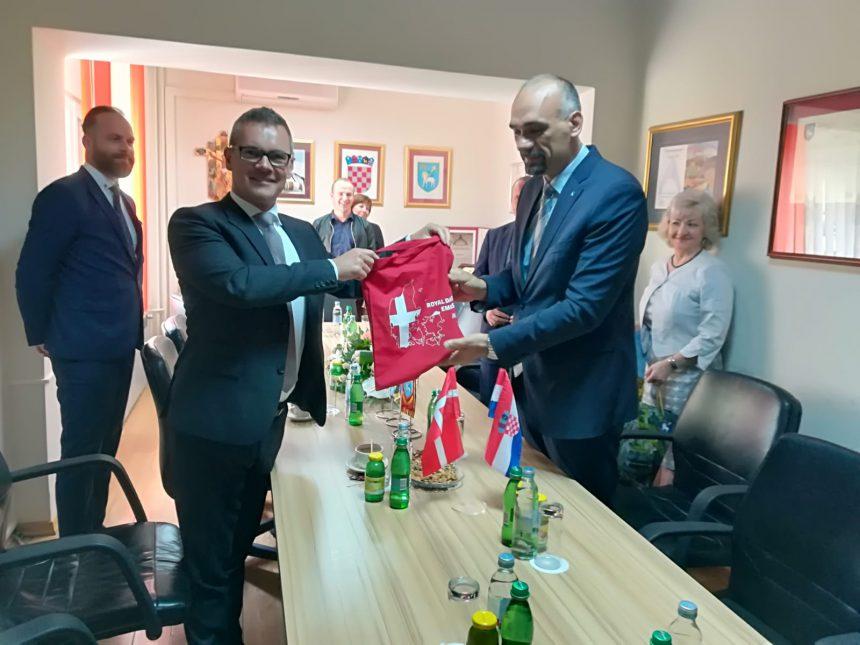 Veleposlanik Kraljevine Danske u Republici Hrvatskoj posjetio Knin