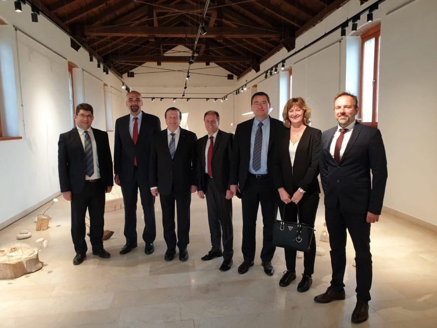 Prof.dr.sc. Damir Boras, rektor Sveučilišta u Zagrebu  posjetio Grad Knin