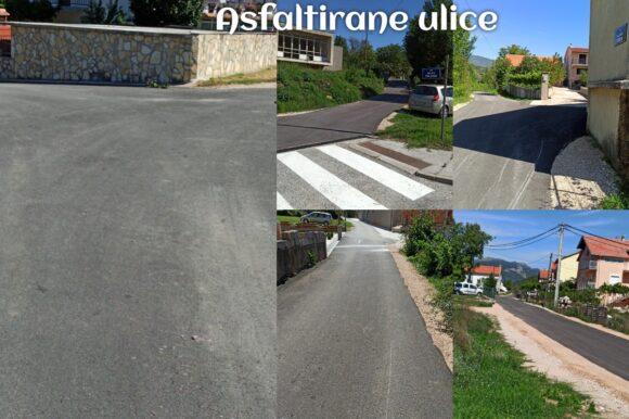 Asfaltiranje ulica na području Grada Knina