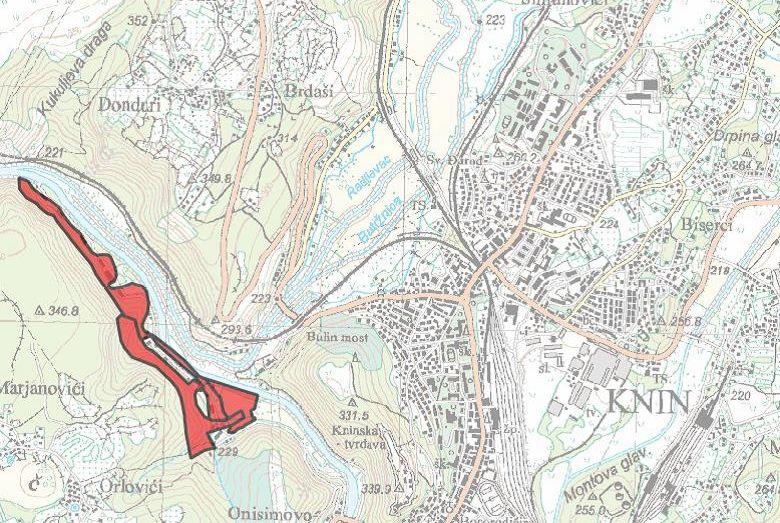 Obavijest o izradi urbanističkog plana uređenja i strateškoj procjeni utjecaja na okoliš za ex vojarnu Krka