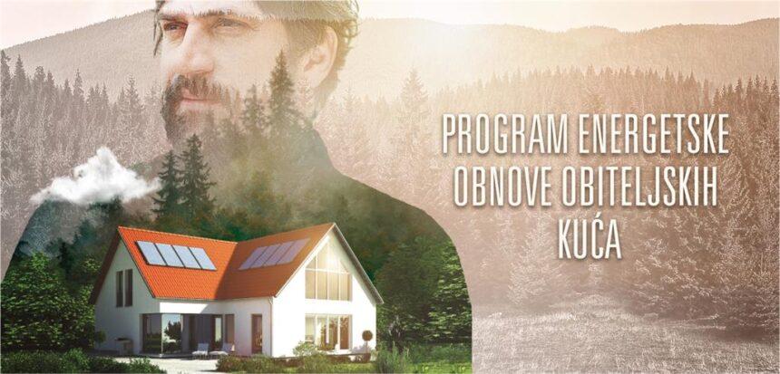Fond objavio Javni poziv za energetsku obnovu obiteljskih kuća